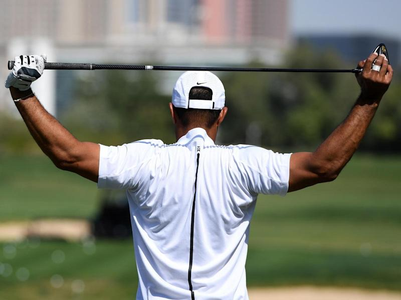 Woods travelled to Dallas for fusion surgery (Getty)