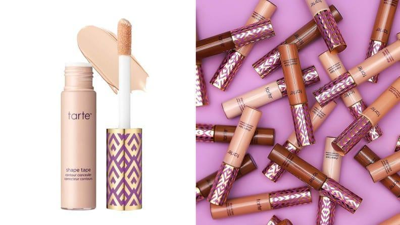 This best selling concealer earned our top spot in our Best Concealer roundup for its crease free full coverage.