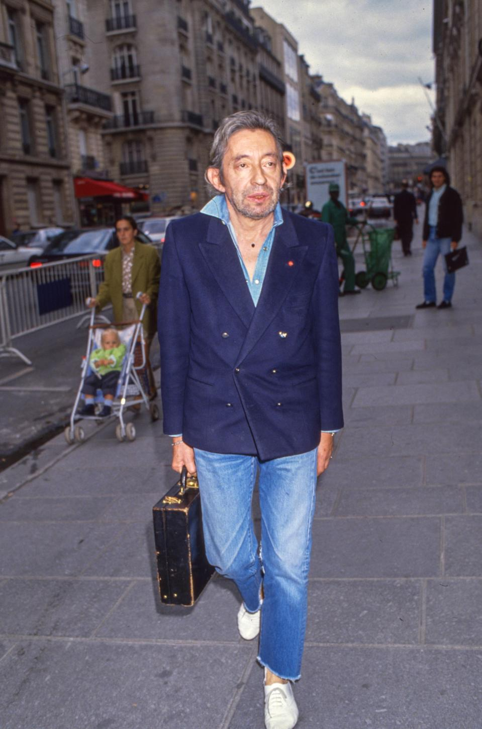 Serge Gainsbourg treats his the way you do your white canvas kicks.