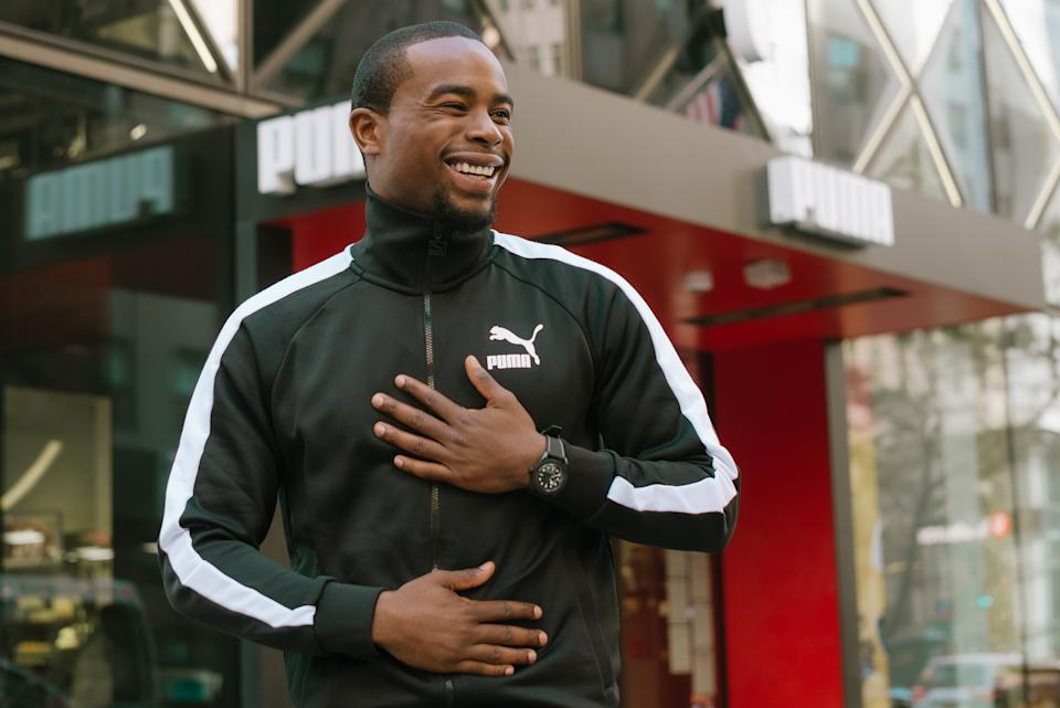 Alex Toussaint and Puma are teaming up to help better the physical health of children across America. (Photo by Puma)