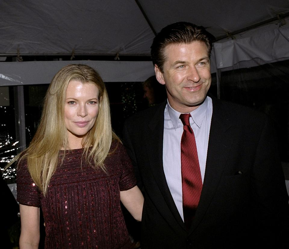 UNITED STATES - APRIL 19: Alec Baldwin and wife Kim Basinger at the Premiere Party for the movie