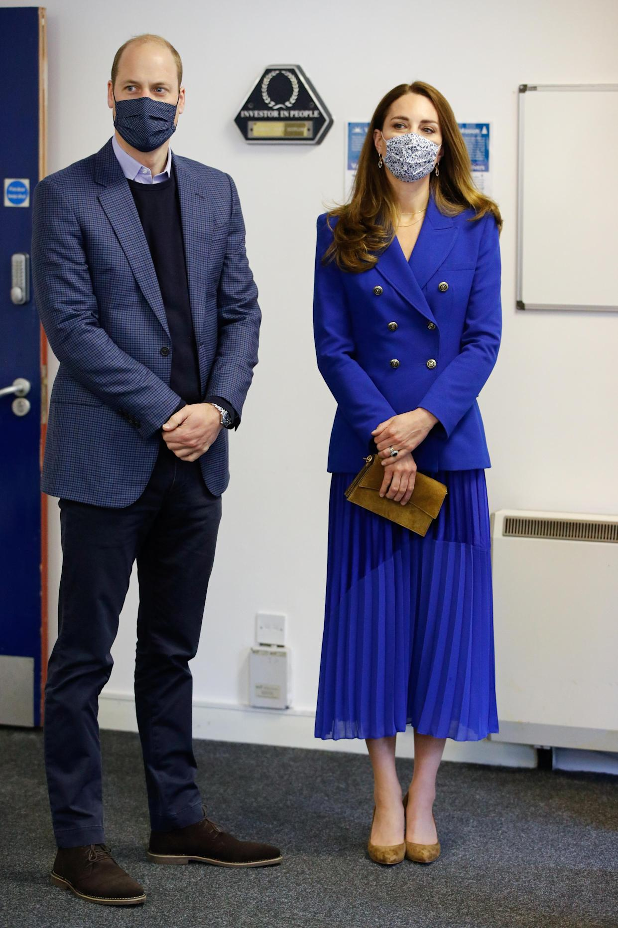 The Duke and Duchess of Cambridge visit Turning Point Scotland's centre as part of their Scottish royal tour.  (Getty Images)