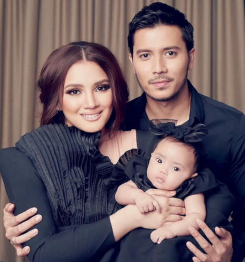 The actress is married to actor Fattah Amin, who was previously linked to Neelofa