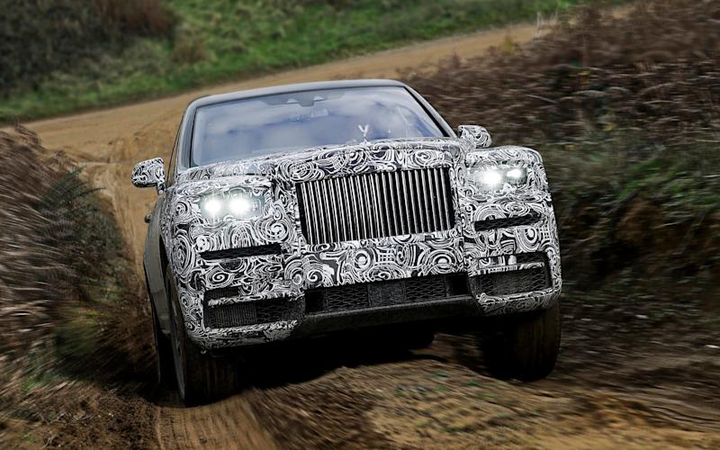 The Cullinan is Rolls-Royce's first off-roader