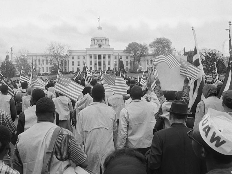 civil rights protests 1960s selma