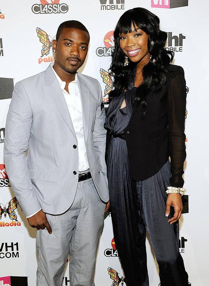 "The sibling stars of ""Brandy and Ray J: A Family Business"" represented the Norwood clan at the VH1 fete. Larry Busacca/<a href=""http://www.gettyimages.com/"" target=""new"">GettyImages.com</a> - April 20, 2010"