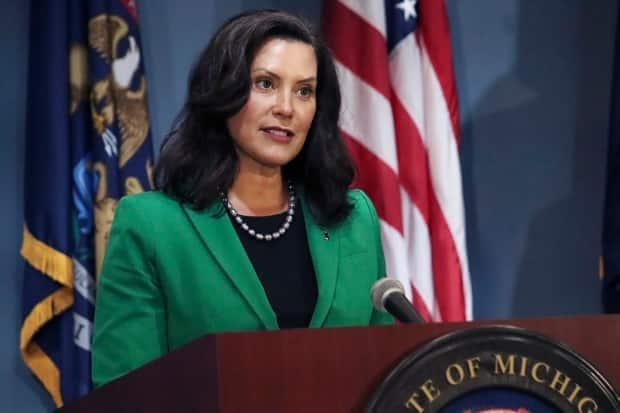 Michigan Gov. Gretchen Whitmer says she wants to shut down the Line 5 pipeline to prevent a 'catastrophic oil spill' in the Great Lakes.
