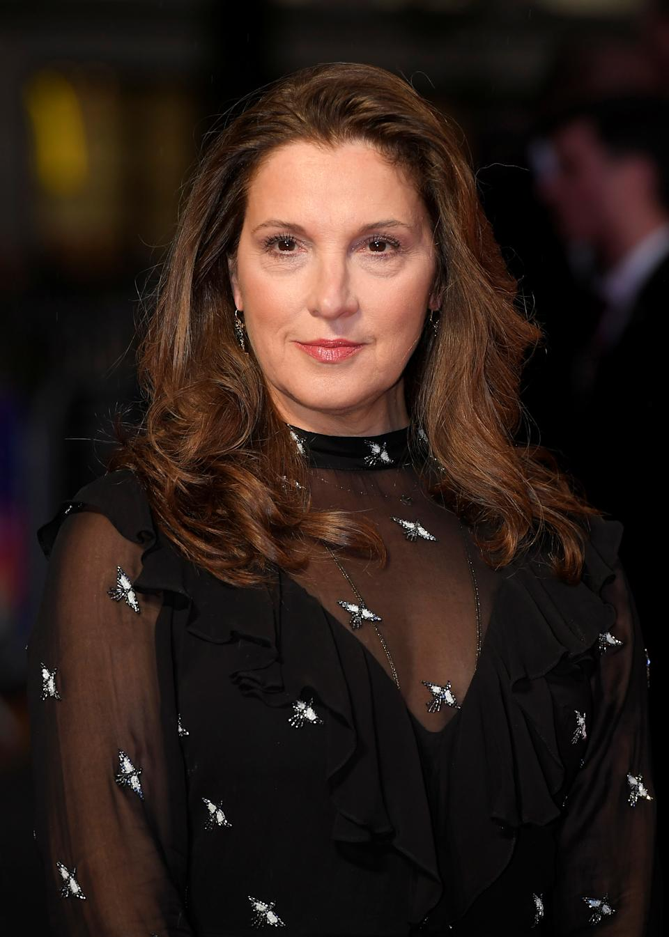 "Film producer Barbara Broccoli arrives for the European Premiere of ""Film Stars Don't Die In Liverpool"" during the British Film Institute (BFI) London Film Festival at the Odeon Leicester Square in London, Britain October 11, 2017. REUTERS/Toby Melville"