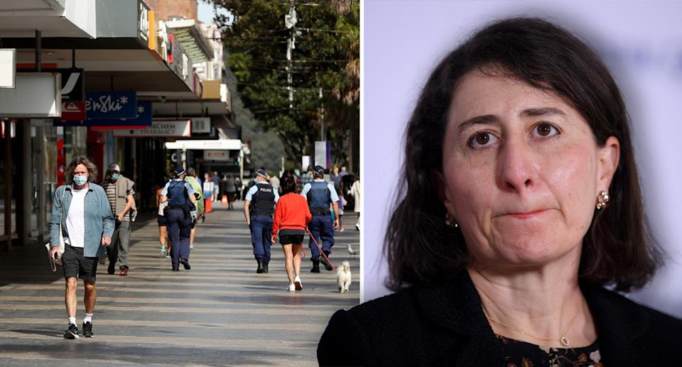Premier Gladys Berejiklian vowed on Tuesday to do what she can to reunite families separated by borders by Christmas. Source: Getty/ AAP
