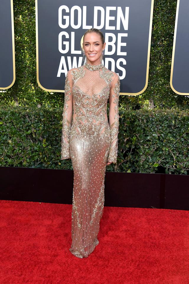 <p>The Golden Globes are back and more naked than ever! See all the sheer, plunging, and skin-baring ensembles from this year's awards right this way. </p>