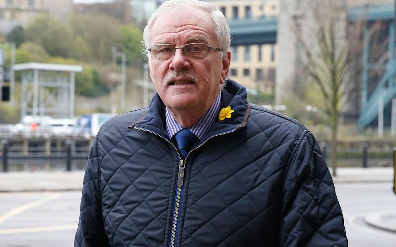 Colin Gregg has been found guilty of nine counts of indecently assaulting boys - PA/Owen Humphreys