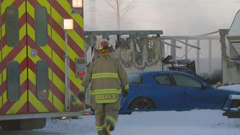 Fire causes 'substantial loss' at storage compound near Winnipeg