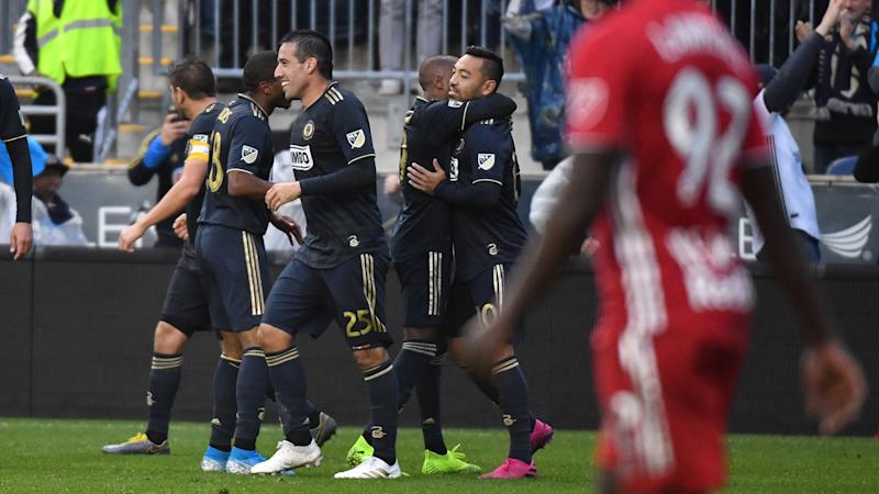 Union beat Red Bulls in extra time, earn first playoff win in franchise history