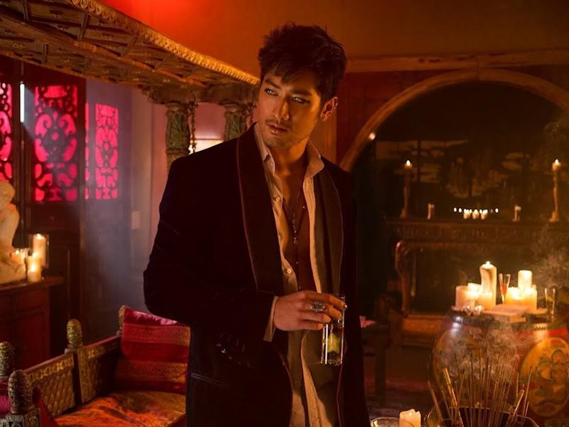"Godfrey Gao made his Hollywood debut in 2013's ""The Mortal Instruments: City of Bones""."