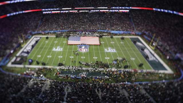 In negotiating a resolution with the NFLPA, the NFL says it won't enforce its anthem policy. (AP)