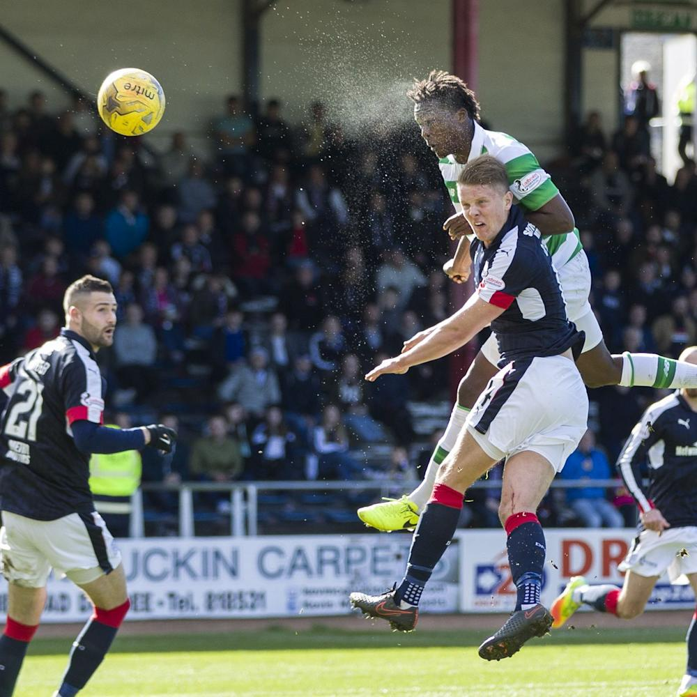 Dedryck Boyata's header was cleared off the line