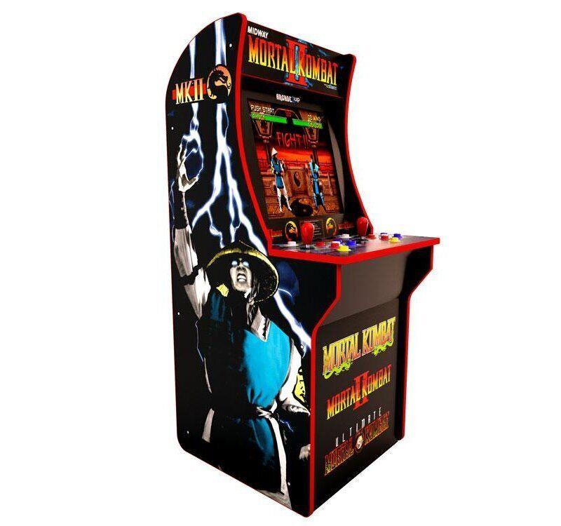 Walmart will be the exclusive retailer for Arcade1Up's 'Mortal Kombat' cabinet. (Image: Arcade1Up)