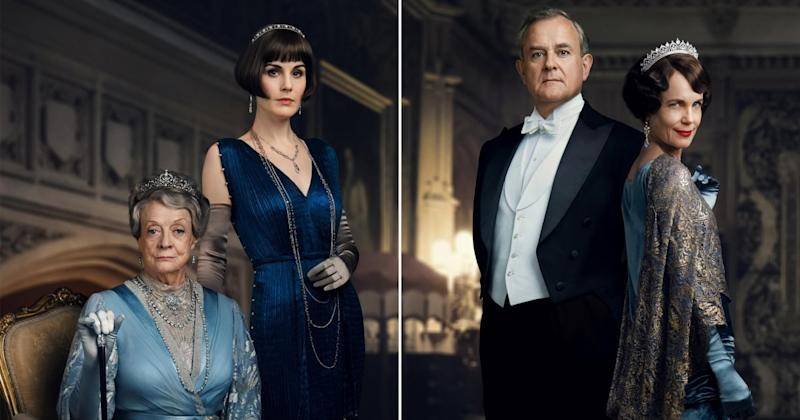 Maggie Smith, Michelle Dockery shine in regal new Downton Abbey posters