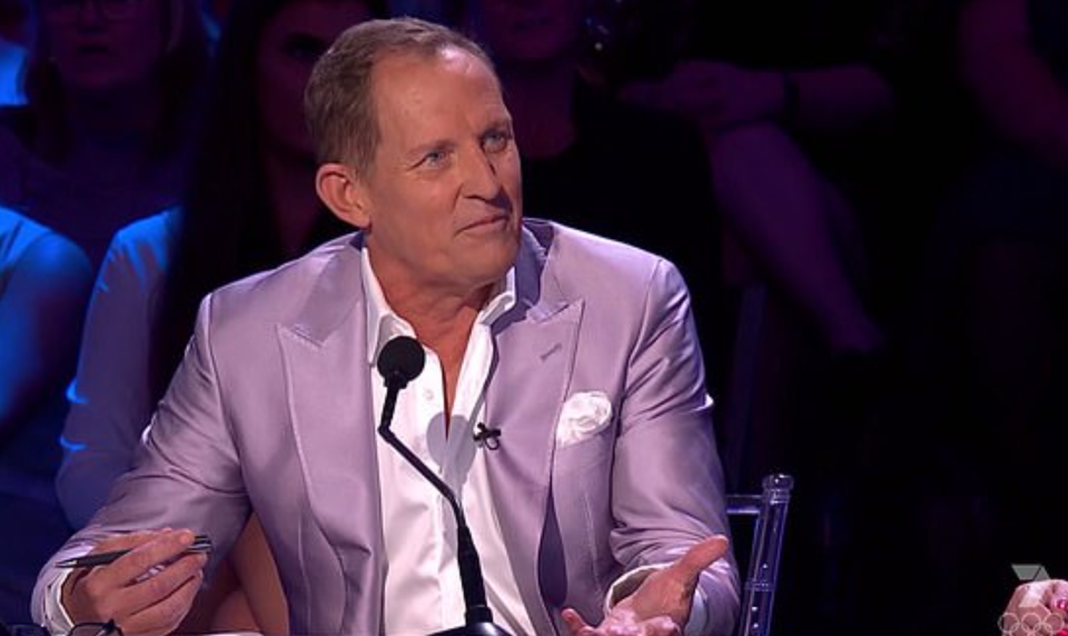 dancing with the star's judge Todd McKenney