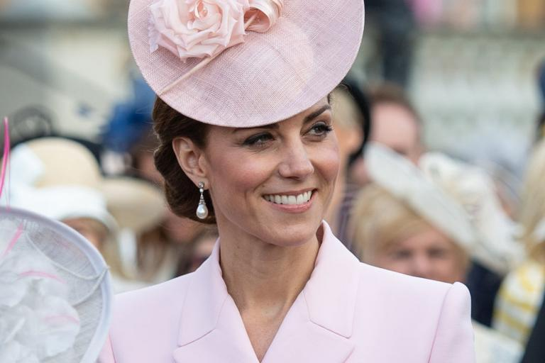 Kate Middleton wears Princess Diana's favourite earrings to Queen's garden party