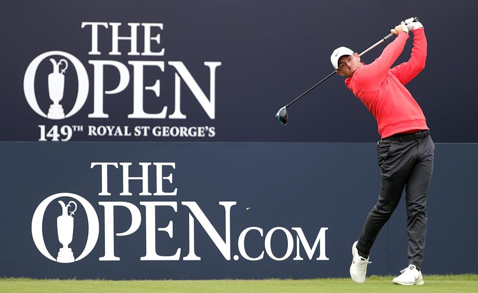 Rory McIlroy at The Open 2021 (PA Wire)