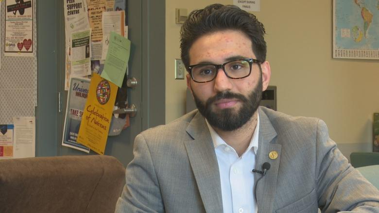 Former University of Windsor student union president says he was disqualified after 'white power' comment