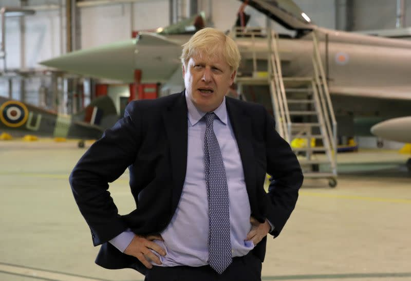 PM Johnson says wants to work with French to stop migrant boats