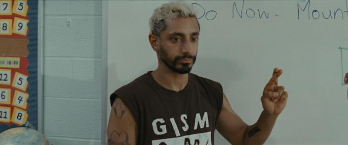 """Riz Ahmed plays a drummer coping with encroaching deafness in """"Sound of Metal."""""""