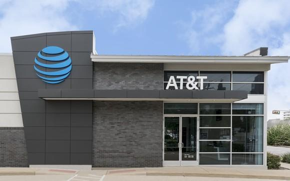 A rendering of an AT&T store