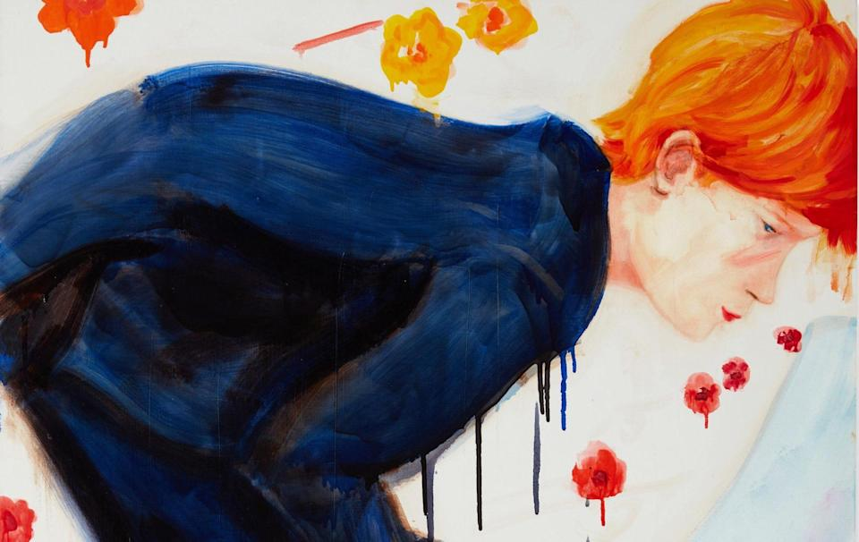 Elizabeth Peyton, Prince Harry (with Flowers), sold for £886,200