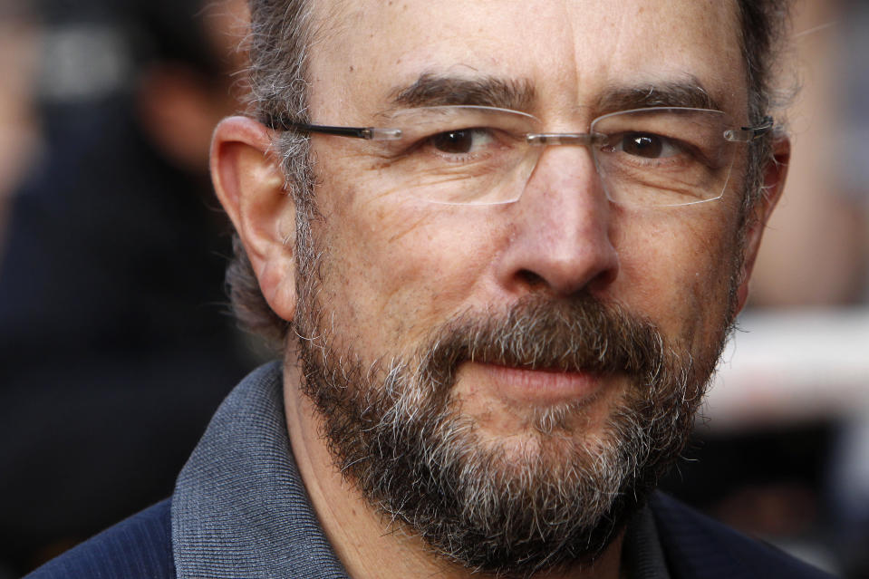 "U.S. actor Richard Schiff poses for photographers at the world premiere of the film ""The Infidel"" in London April 8, 2010.REUTERS/Stefan Wermuth (BRITAIN - Tags: ENTERTAINMENT)"