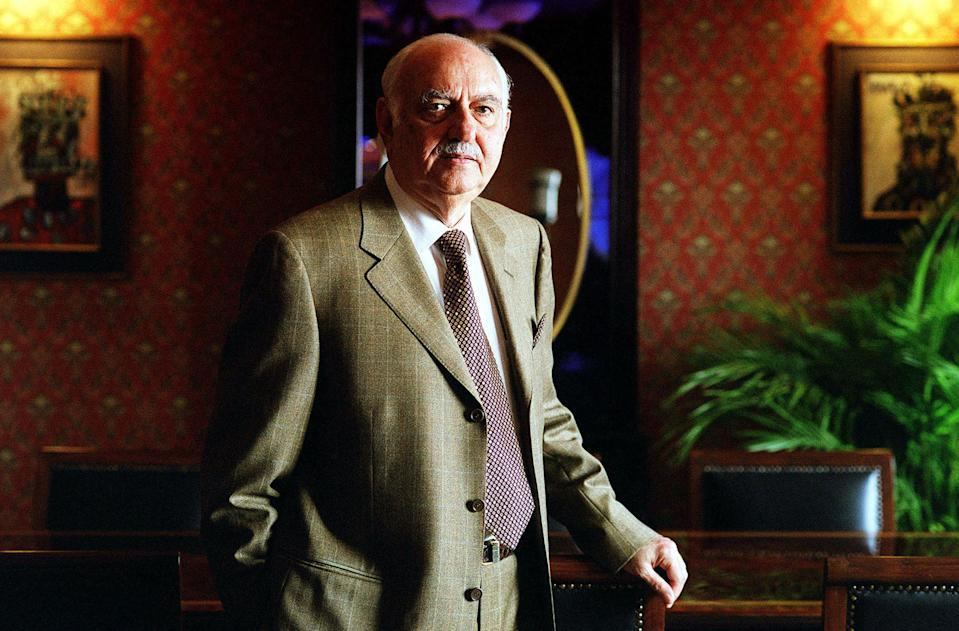 Pallonji Shapoorji Mistry (born 1929) is an Indian-born Irish billionaire construction tycoon and chairman of Shapoorji Pallonji Group. His wealth is estimated to be US$14.4 billion as of October 2019. Pallonji Shapoorji Mistry's father Shapoorji Pallonji co-founded construction company Littlewood Pallonji and Company in 1865, and went on to build factories for Tata Steel and Tata Motors, for which he took payment in shares. His son, Mistry, joined the diversified family business at the age of 18, building up a fortune of $13.2 billion as Littlewood - now known as the Shapoorji Pallonji Group - played a key role in the development of Mumbai as India's commercial hub. The Imperial residential towers in the Tardeo area of Mumbai were developed by the company on the site of a former slum. Mistry's share in the group is $1.9 billion, while his stake in Tata is worth more than $9 billion.