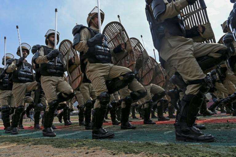 The officer was apprehended along with three militants at a police checkpoint in Kashmir