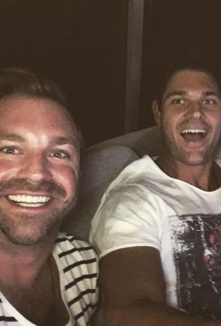 James will not be following in Apollo's footsteps on Bachelor in Paradise. Source: Instagram