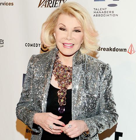 Joan Rivers' Surgery Being Investigated by New York State Department of Health