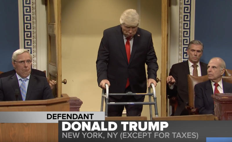 Watch 'SNL' Open With 'Impeachment Trial You Wish Had Happened'""