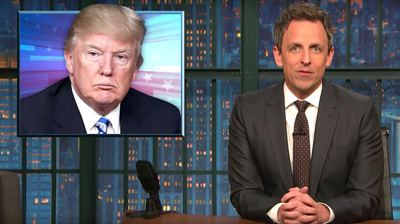Seth Meyers Hits Back At John Kelly's DACA Insult