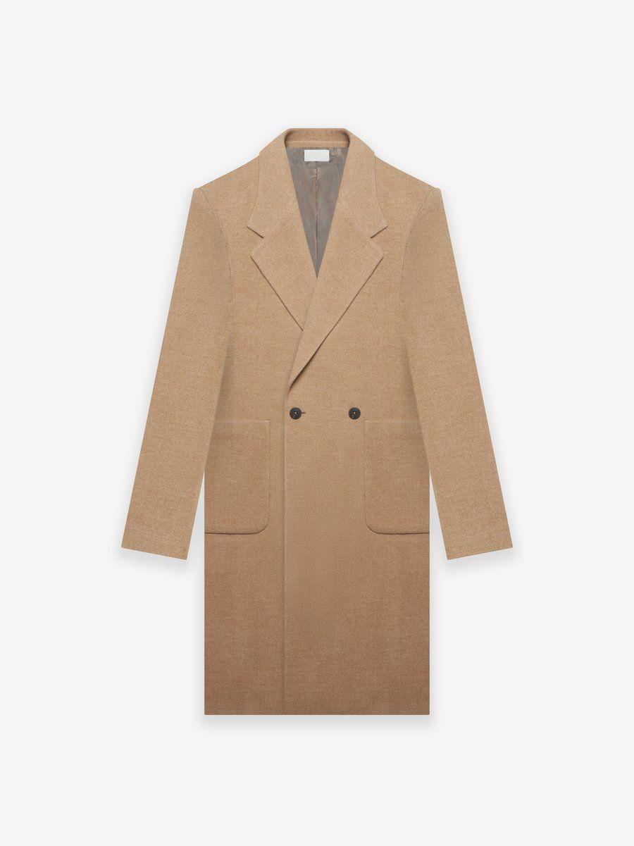 """<p>fearofgod.com</p><p><strong>$3415.00</strong></p><p><a href=""""https://fearofgod.com/collections/fear-of-god-zegna/products/fearofgodzegna-wool-double-breasted-coat"""" rel=""""nofollow noopener"""" target=""""_blank"""" data-ylk=""""slk:Shop Now"""" class=""""link rapid-noclick-resp"""">Shop Now</a></p>"""