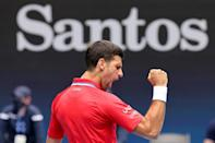 Serbia's Novak Djokovic has won a record eight Australian Open titles, and is hoping for a ninth