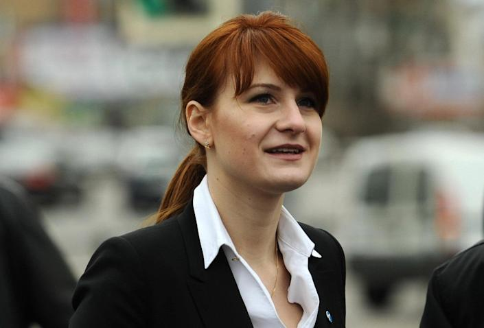 Maria Butina, the founding chair of a Russian gun rights group and special assistant to Torshin. (Photo: ITAR-TASS/Zumapress.com)