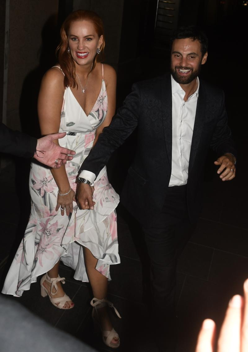 MAFS stars Cam and Jules on their wedding day