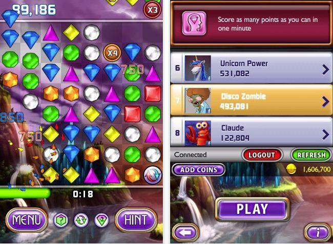 bejeweled iphone discounted japan earthquake relief