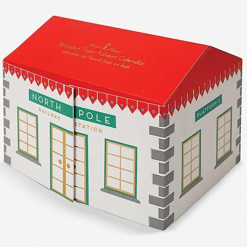 Meri Meri Railway advent calendar from Selfridges - Credit: Selfridges