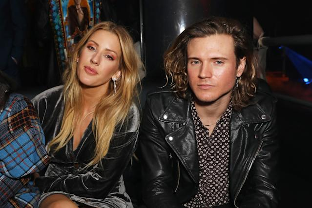 Ellie Goulding dated Dougie Poynter between 2014 and 2016 (Credit: Getty Images)
