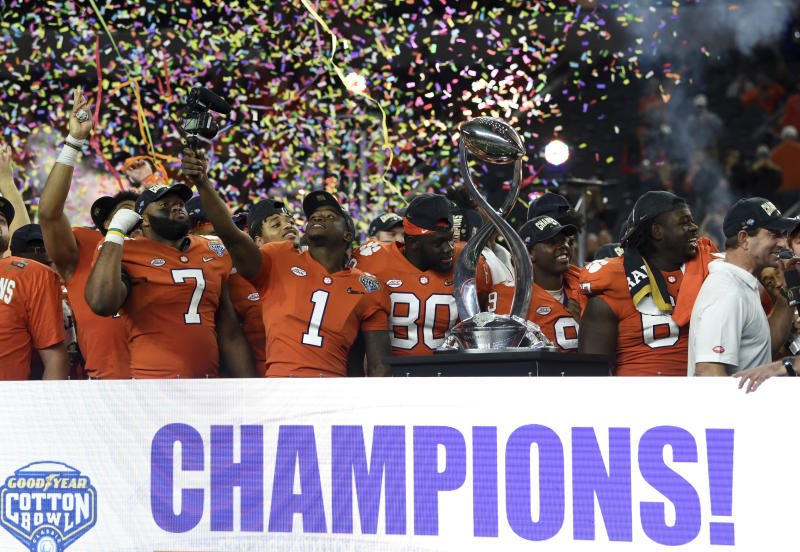Clemson  39 s NFL prospects step closer to championship goals 78309546a