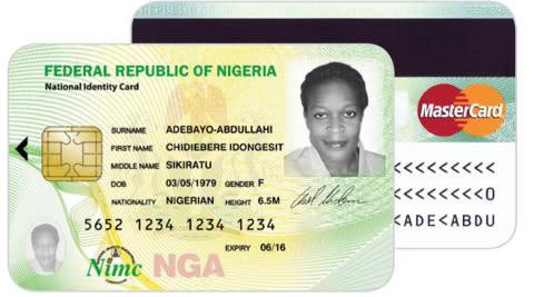 The Nigerian National Identity Management Commission (NIMC) will be issuing MasterCard-branded Natio ...