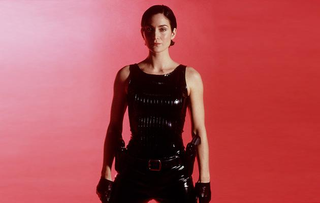 "Carrie-Anne Moss as Trinity <br>""<a href=""http://movies.yahoo.com/movie/the-matrix/"">The Matrix</a>"" (1999)"
