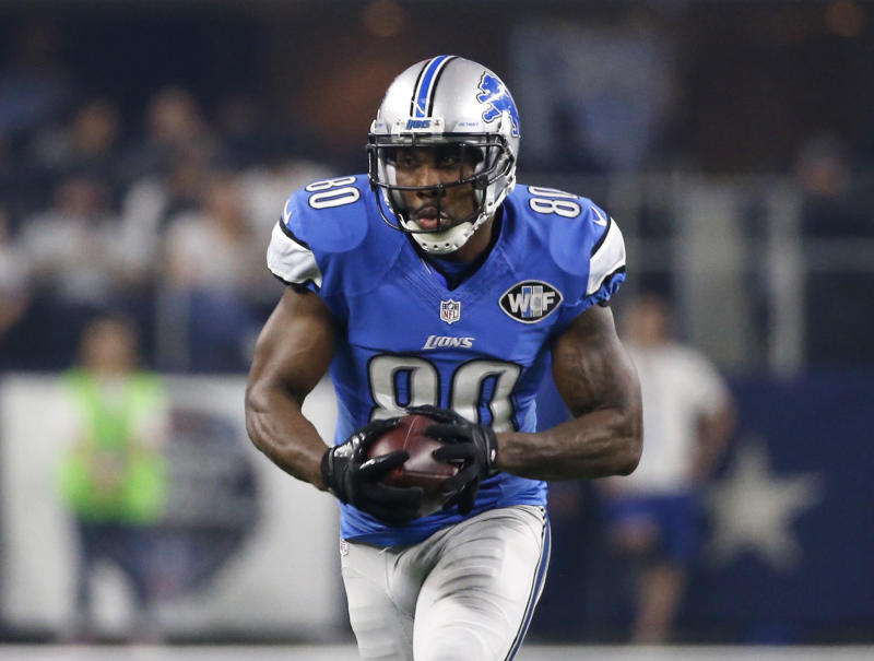 Anquan Boldin will reportedly sign with the Buffalo Bills. (AP)
