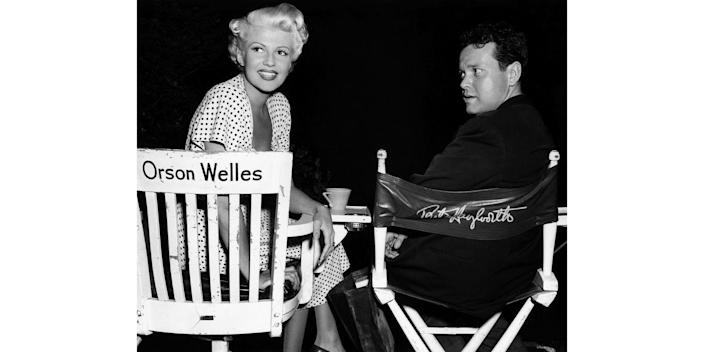 <p>On the brink of divorce, Rita Hayworth joins her director husband on the Columbia Pictures set of their latest movie: <em>The Lady from Shanghai. </em>The couple was granted a divorce shortly after, which took a year to finalize, after being together for four years. </p>