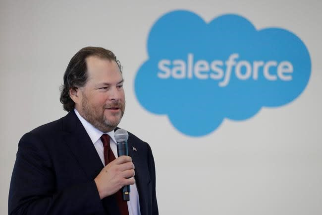 Salesforce to acquire data visualization company Tableau for $15.7 billion
